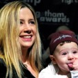 Mira Sorvino et son fils Johnny