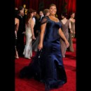 Queen Latifah sur le tapis rouge des Oscars 2009