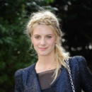 Mélanie Laurent au défilé Maxime Simoens à la Fashion Week de Paris