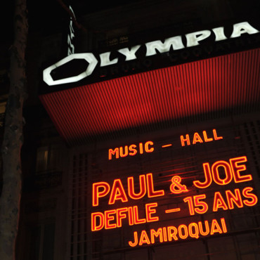 Olympia 15 ans Paul & Joe