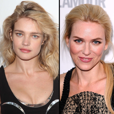 Naomi Watts vs Natalia Vodianova blondes Glamour Women of the Year 2012 mai 2012