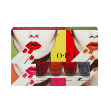 Kit vernis à ongles pop art O.P.I