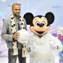 Mickey et Tony Parker