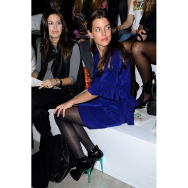 Charlotte Casiraghi à la Fashion Week Printemps-été 2010 de Paris