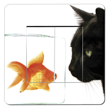 Sticker poisson/chat IDzif