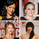 Rihanna, Adele, Taylor Swift... la liste des nomins aux Grammy Awards 2013