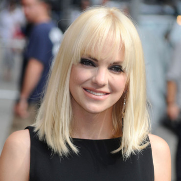 Anna Faris arrive au Late Show With David Letterman