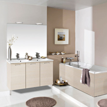 meuble gain de place salle de bain amazing salon moderne blanc beige ide dco salle de bain bois. Black Bedroom Furniture Sets. Home Design Ideas