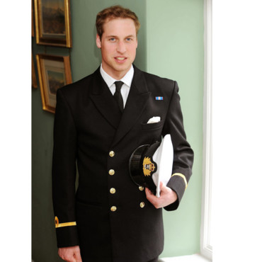 Prince William en uniforme
