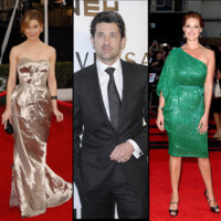 Les acteurs de Grey&#039;s Anatomy prennent la pose en tenue de gala