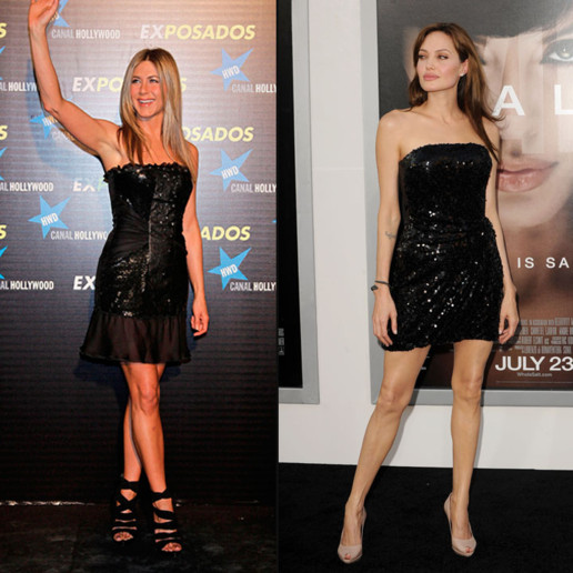 angelina jolie jennifer aniston