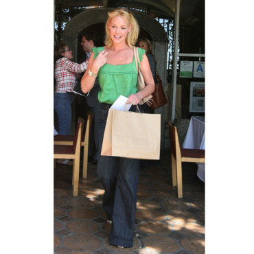 Katherine Heigl en pleine session shopping