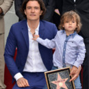 Orlando Bloom a reçu son étoile sur le Walk of Fame le 2 avril 2014