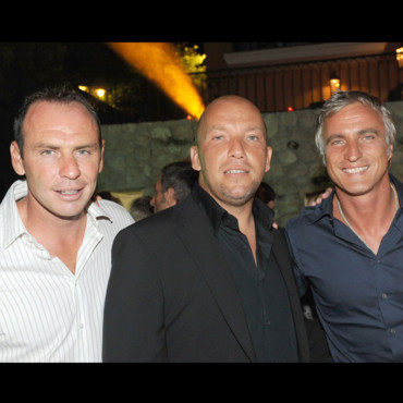 Alain Boghossian, Junior et David Ginola