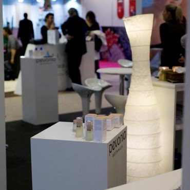 Salon de la beauté Beyond Beauty : stand Pevonia