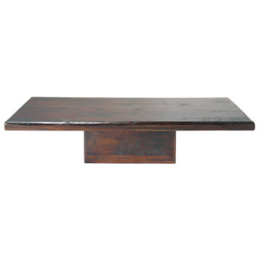 Table basse Chandernagor en manguier massif teinté - Maisons du monde 399 euros