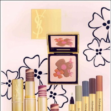 yves saint laurent maquillage fete ans collection tres coloree