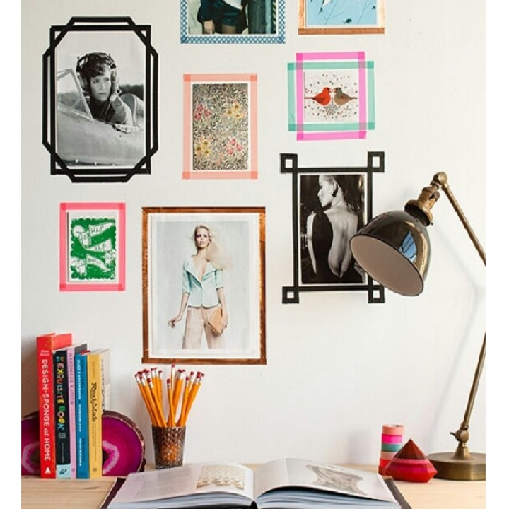 5 id es pour refaire sa d co gr ce au masking tape for Article de decoration interieur