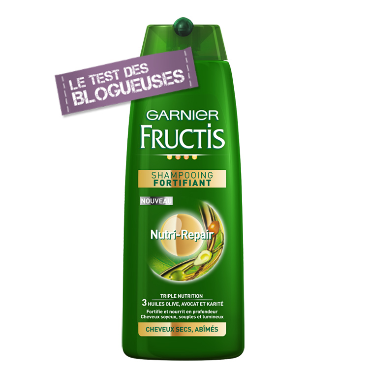 test beaut fructis notre blogueuse laurine a test le shampooing pour cheveux secs beaut. Black Bedroom Furniture Sets. Home Design Ideas