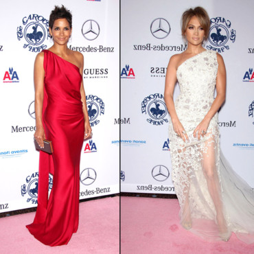 Top Flop robe asymétrique Halle Berry vs. Jennifer Lopez