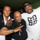 Jean Roch, Quincy Jones et Busta Rhymes