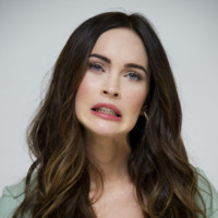 Megan Fox grimace