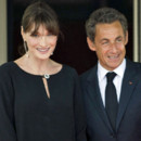 Nicolas Sarkozy et Carla Bruni-Sarkozy au somemt du G8 Deauville le 26 mai 2011