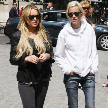 people : Lindsay Lohan et Samantha Ronson