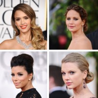 Golden Globes : les plus belles coiffures de stars