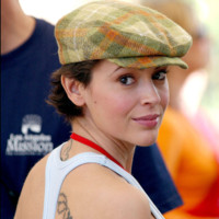 Photo : Alyssa Milano et sa gavroche