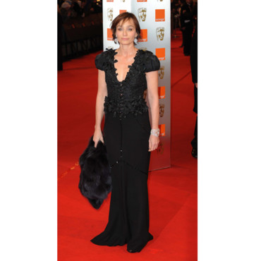 Kristin Scott Thomas en Louis Vuitton