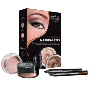 Maquillage Sephora : kit regard naturel Make up for ever