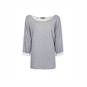 Sweat shirt coton et lurex Mango 24,99 euros