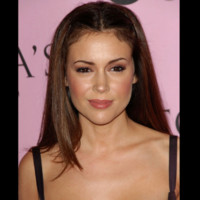 Photo : Alyssa Milano version lisse