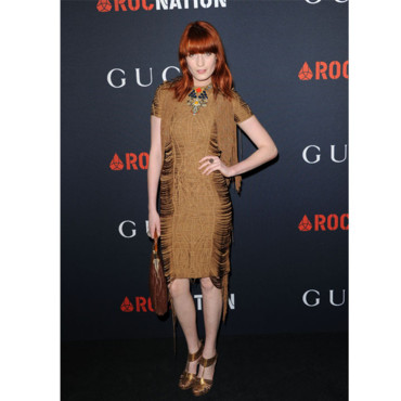 Soirée Gucci Grammy Awards Florence Welch