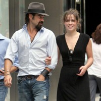Photo : Colin Farrell et sa compagne