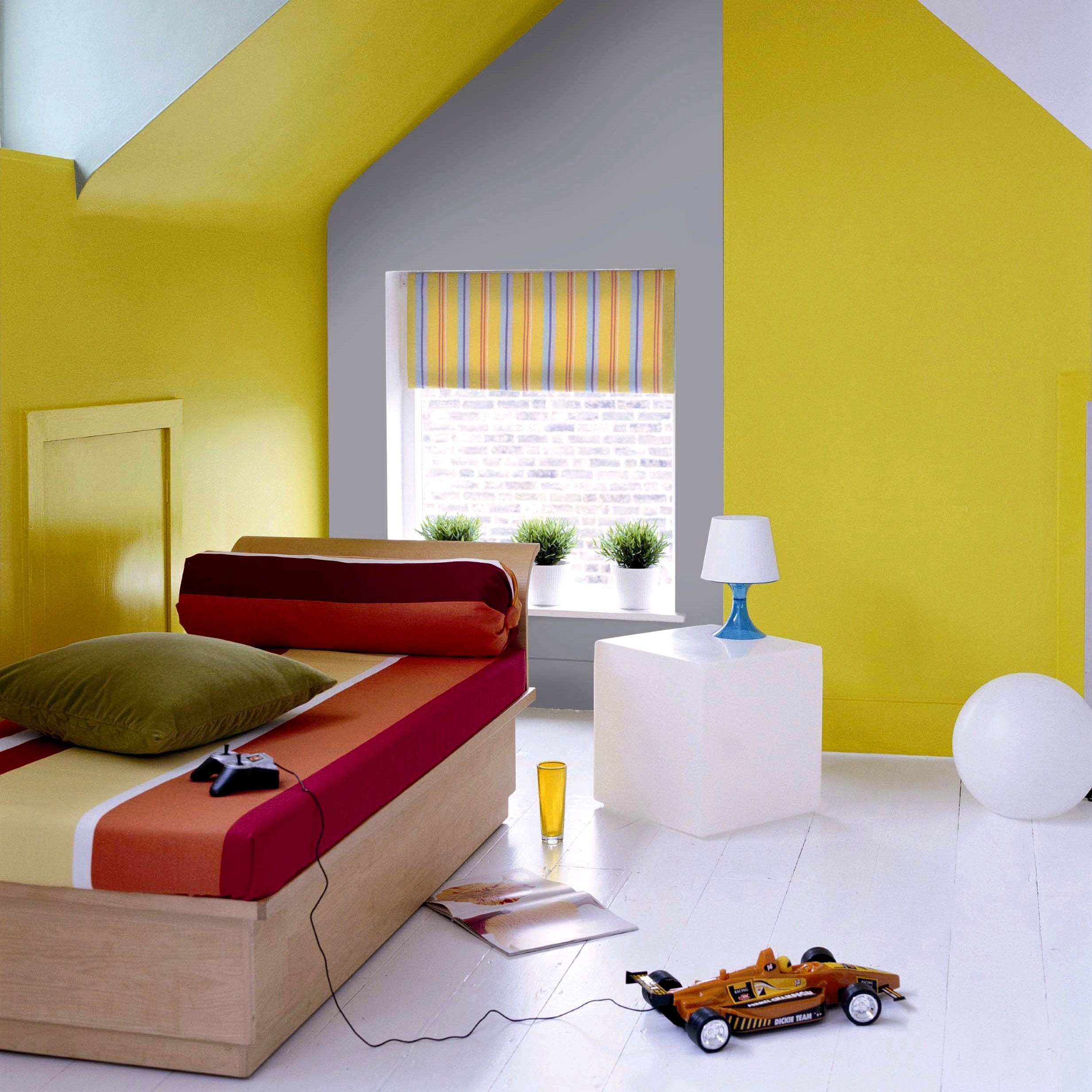pour tre tendance optez pour une d co jaune. Black Bedroom Furniture Sets. Home Design Ideas