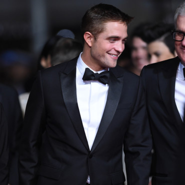 Robert Pattinson à la projection de The Rover au Festival de Cannes 2014 le 18 mai 2014