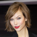 Karlie Kloss à la Fashion Week de New York le 12 février 2013