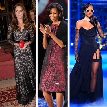 Kate Middleton, Michelle Obama, Rihanna... best of mode de la semaine