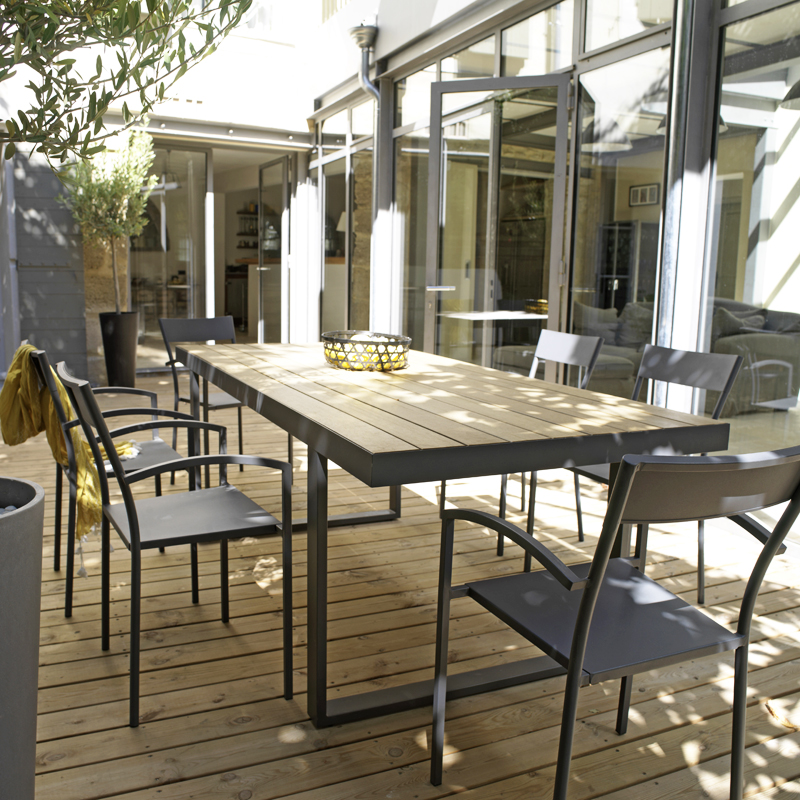 Table salon de jardin castorama - Maison mobilier et design