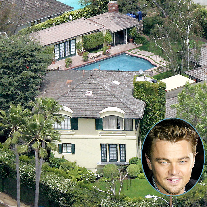 vues du ciel les plus belles maisons de stars hollywood la maison de leonardo dicaprio. Black Bedroom Furniture Sets. Home Design Ideas