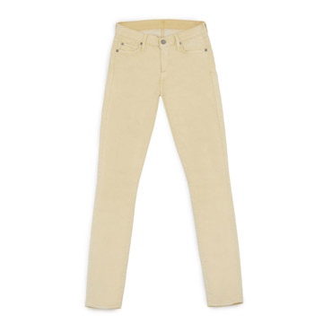 Jeans skinny yellow Geant Casino 24 99 euros