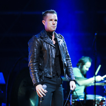 Brandon Flowers, chanteur du groupe The Killers