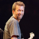 Eric Clapton en concert au Royal Albert Hall de Londres en 1996