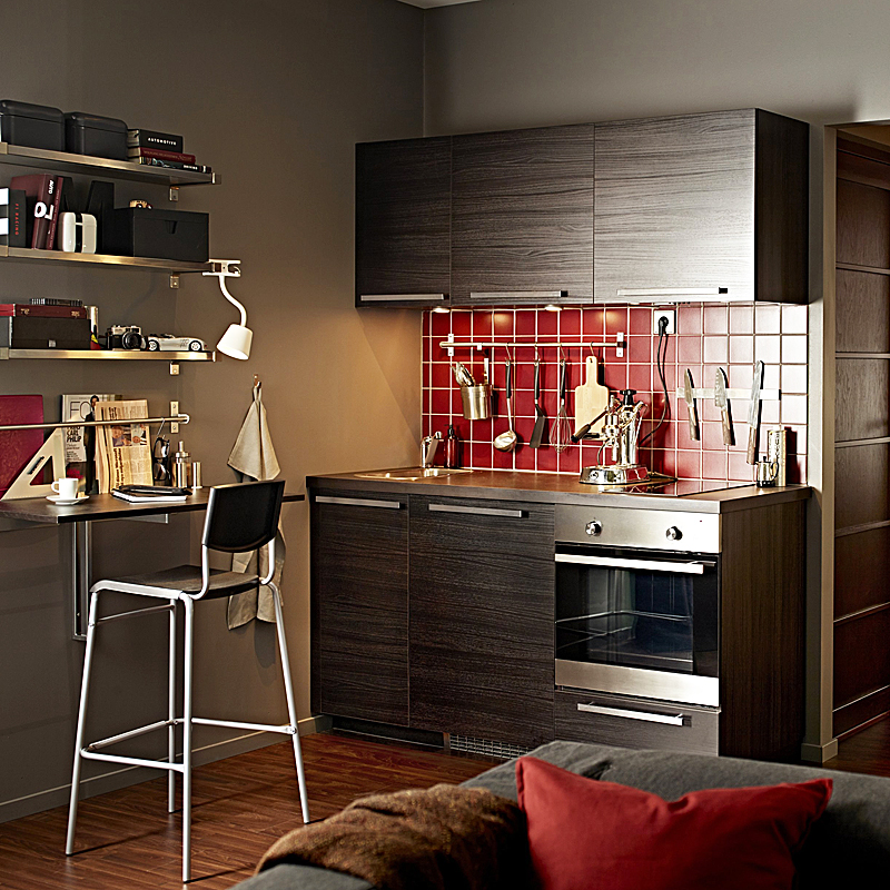 petite cuisine 20 mod les de kitchenettes id ales pour les tudiants kitchenette tingsyd. Black Bedroom Furniture Sets. Home Design Ideas
