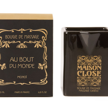 Bougie de massage sexy Maison Close Monoï
