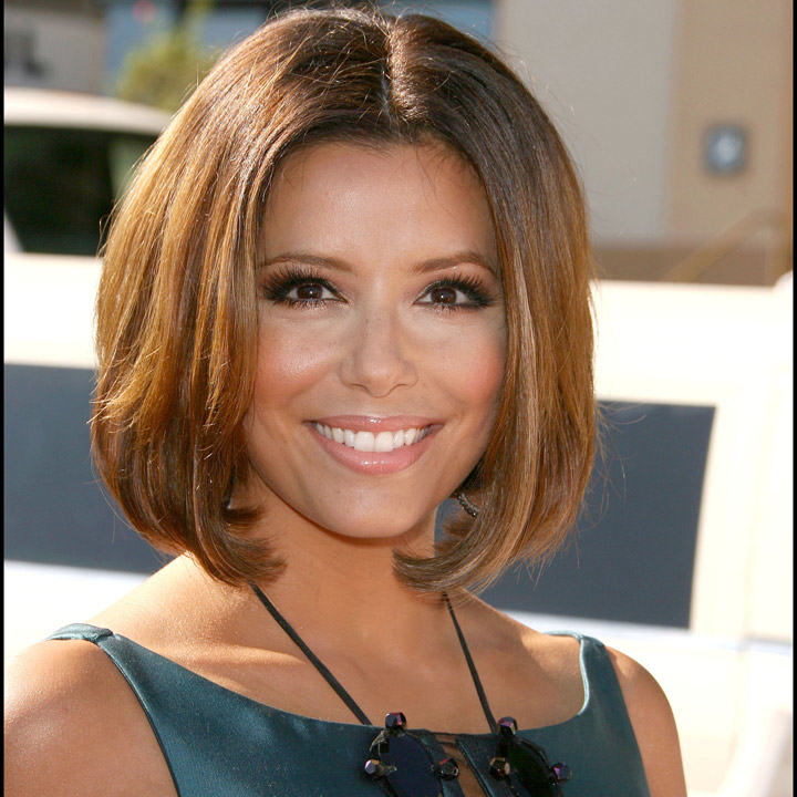 cheveux de stars elles ont eu les cheveux au carr eva longoria les cheveux au carr. Black Bedroom Furniture Sets. Home Design Ideas