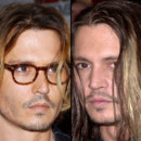 Johnny Depp coupes de cheveux