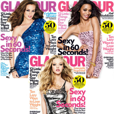 Glamour couverture